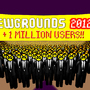 +1 Million Users!! by StomachBug