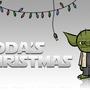Yoda's Christmas Poster by WhiteLightning