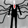 Slender Man Full View by luxan
