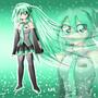 Miku Hatsune V2 by bocodamondo