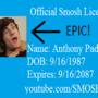 SMOSH Anthony Padilla License by PS2SROCK