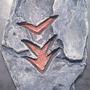 Fire Shuriken Rune Stone by Kinsei