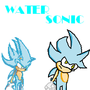 Water Sonic Art by FanKeroro
