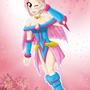 Dark Magician Sakura V3 by bocodamondo