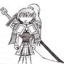 Warrior Gurl by kenkier