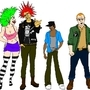 The Punks by Los-Tres-Hermanos