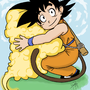 Goku and Nimbus by Syringes