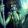 Futuristic Shaman by Rhunyc