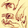 Hands study by TheFishyOne