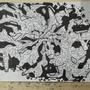 a graff wall sketch by drrorodoctormd
