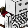 Minecraft Skeleton by qwertysam