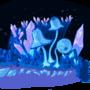 Crystal Shrooms by SuperBastard