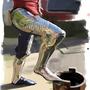Leg Armor Study by thdark