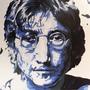 Jonh Lennon by porcelainskin