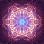 Blue Star Mandala by Nondual