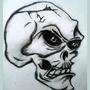Skully Man by SuperNerdyLove