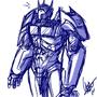 Optimus Prime by Kunachi