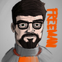 G-G-Gordon Freeman!! by DNoack757