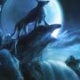 Wolfmoon by Kamikaye
