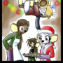 HP Christmas 2011 by ZaronX