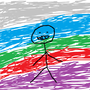 Stickfigure Rainbow by NoobyTubey117