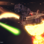 Space Battle by Zictor