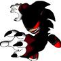 badass gothic sonic by Alien9000