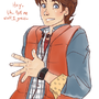 Marty McFly by chesireusagi