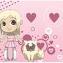 Girl and Dog by Torogoz