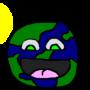 Derpy Earth by MittenDaKitten