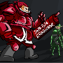 Militant Santa by Neochilds