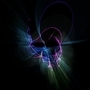 Glowing Spiral by Veich