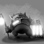 The Light Knight by skullzNHERO