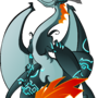 midna the dragon by megadrivesonic