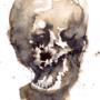 paper skull by marll
