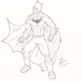 Batman - Sketch by C01