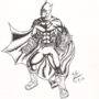 Batman - Inked by C01