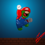 Fat Alien Mario by Iviqrr