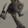 Bipedal cavalry automaton by kmau