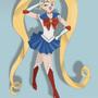 Sailor Moon by PinkRose11