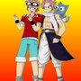 Natsu and Natsu by bocodamondo