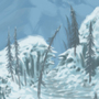 Skyrim Mountain passage by CatFat
