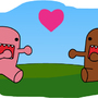 DOMO KUN hugs by Akle