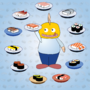 Sushi by MongaikanRyu