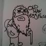 Oldman Eggface by EpicSushi