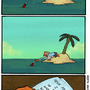 Message In A Bottle by ToonHole