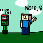 One of those Creepers love TNT by kazukimutosonic