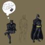 Batman by cmkinusn