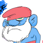 Daddy Smurf by RockBullet
