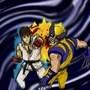 Ryu vs Wolverine quick sketch by Sanjuro201